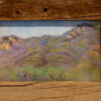 """Valley View"" Beatrice Miera-Medina, pastel"
