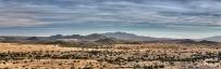 View of Cerillos Hills outside Santa Fe, NM