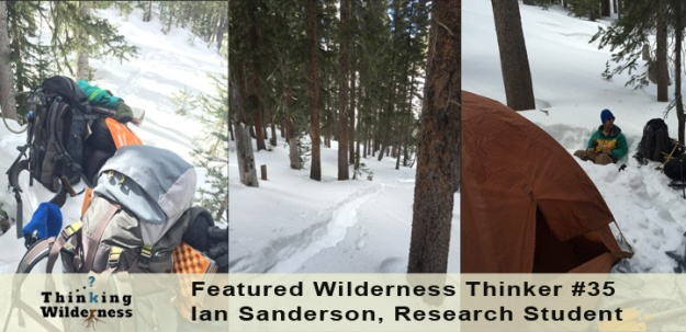 Wilderness Research, Ian Sanderson 2015