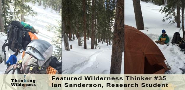 Wilderness Research, Ian Sanderson 2015