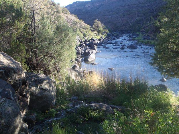 Rio Grande Gorge near Cebolla Mesa. Image: Todd Wynward